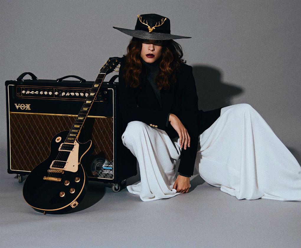 Julianna Ro en el making of de uno de sus vídeos musicales. Foto: Darío Milano