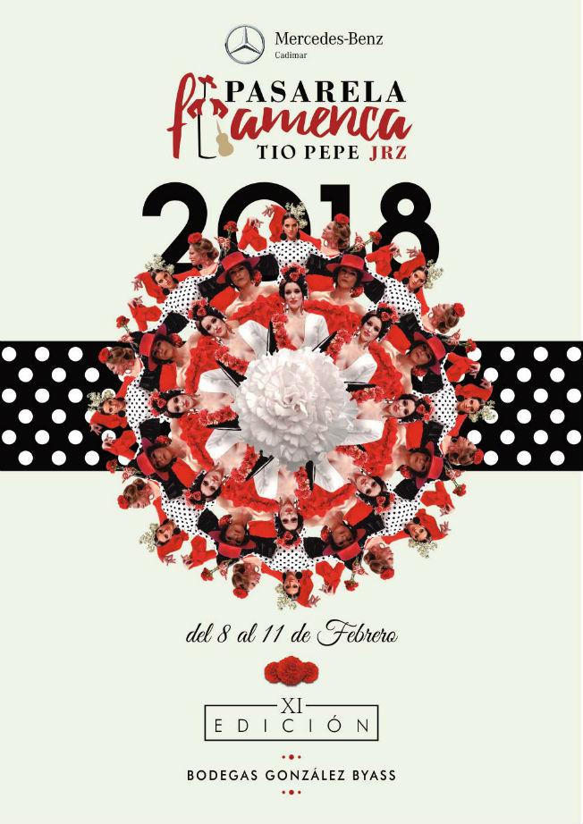 Cartel de la Pasarela Flamenca de Jerez 2018