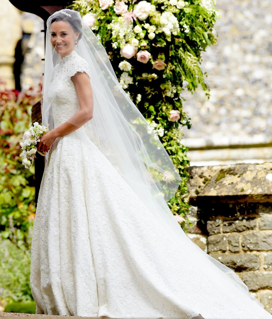 IIM-15157. Englefield (United Kingdom), 20/05/2017.- Pippa Middleton arrives for her wedding ceremony at St Mark's church in Englefield, Berkshire, Britain, 20 May 2017. Pippa Middleton, the younger sister of Catherine, the Duchess of Cambridge is to marry financier James Matthews. (Duque Duquesa Cambridge) EFE/EPA/STRINGER / POOL UK OUT