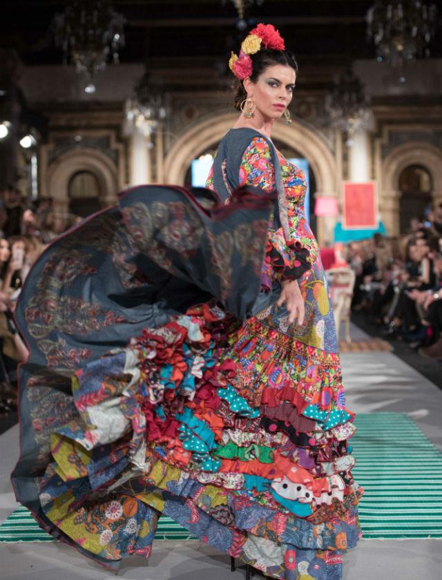 Flamenca Pol Núñez en We Love Flamenco 2018. Foto: Aníbal González