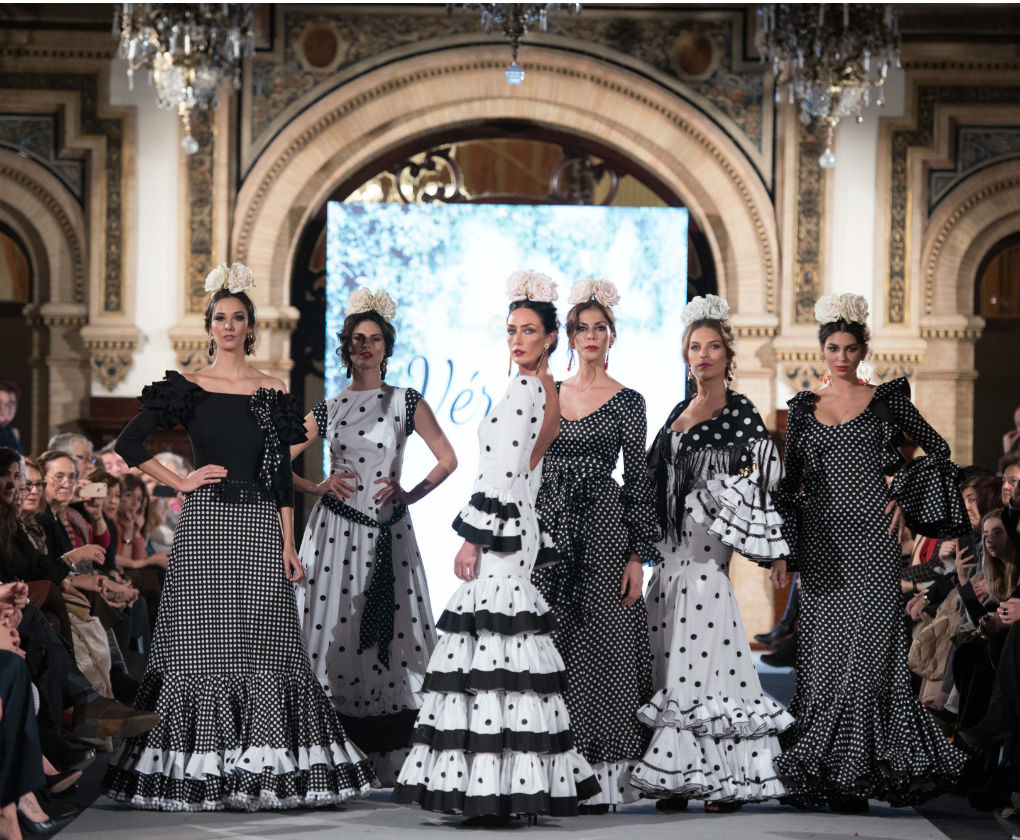 Desfile de Pepa Garrido en We Love Flamenco 2018. Foto  Aníbal González 02bba0e1ce3