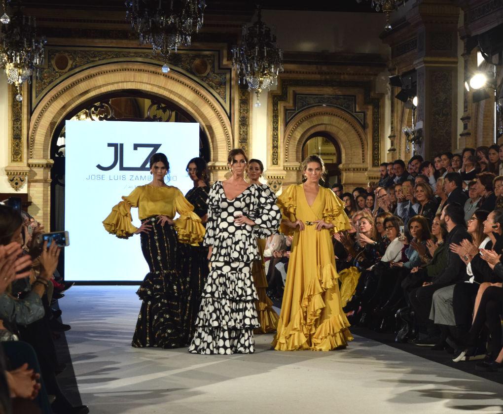 Desfile de JL Zambonino en We Love Flamenco 2018. Foto: R.Ponce