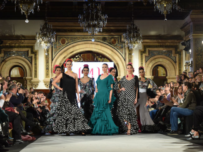 Desfile de Mónica Méndez en We Love Flamenca 2018