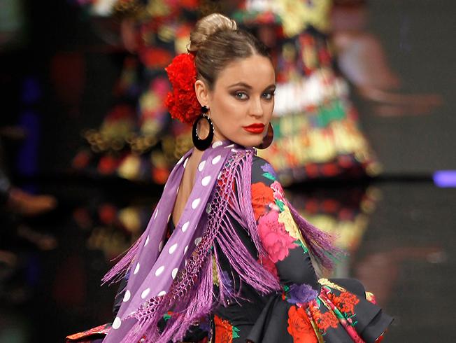 SIMOF 2018: tendencias para poner las flores de flamenca