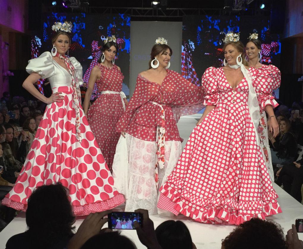 Desfile de Cristo Báñez en D`Flamenca Doñana 2018. Foto: Nacho Nieto
