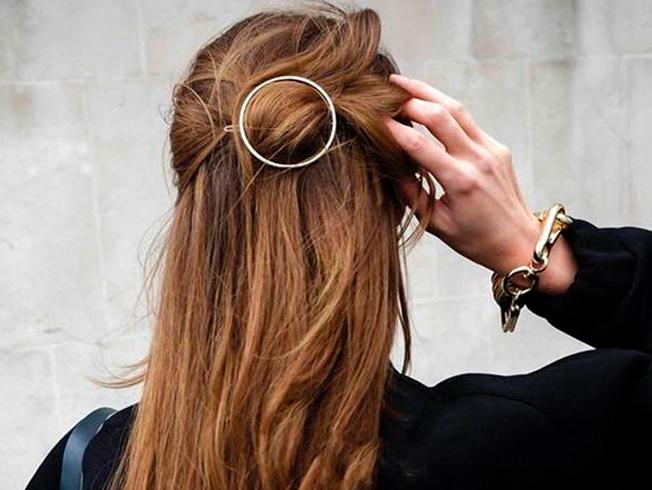peinados para llevar pasador