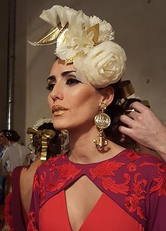 Simof 2018 tendencias maquillaje flamenca labios dorados