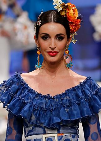 Simof 2018 tendencias maquillaje flamenca labios rojos