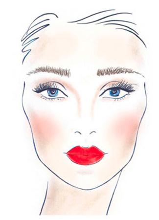 Simof 2018 tendencias maquillaje flamenca Look «noche flamenca»