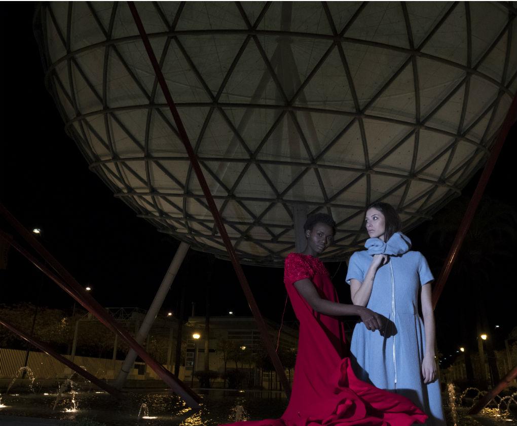 Urban shooting de Code 41 Trending Day en homenaje a la Expo 92. Foto: Santi Molina