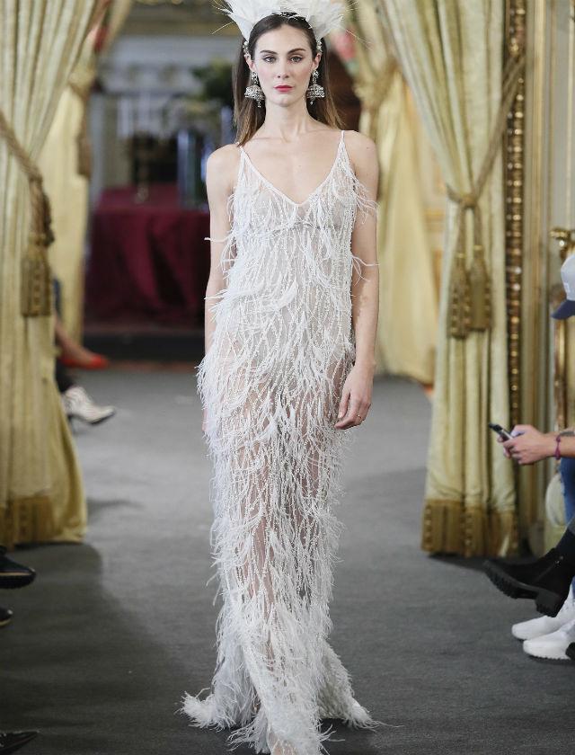 Vestido de novia de Inma Linares en Atelier Couture 2018