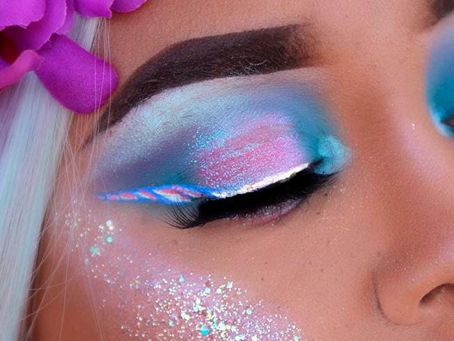 Tendencia: maquillaje unicornio