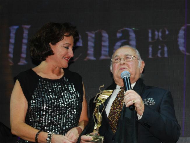 Invitados y premiados en la IV Cena de la Costura del gremio de sastres y modistas de Sevilla
