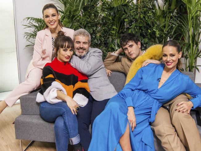 Eva González acude al programa «Maestros de la Costura»
