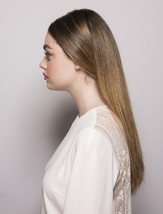 Peinado de novia para los desfiles de Inma Linares y Nihil Obstat en la Pasarela Atelier Couture 2018