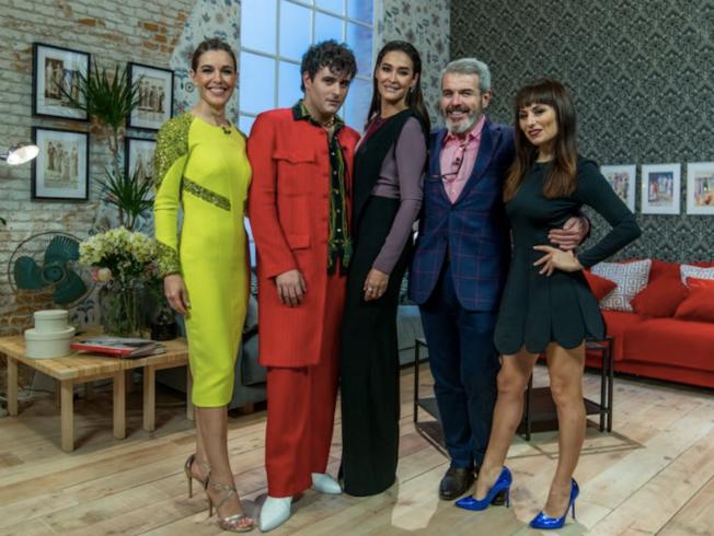 Vicky Martín Berrocal en Maestros de la Costura