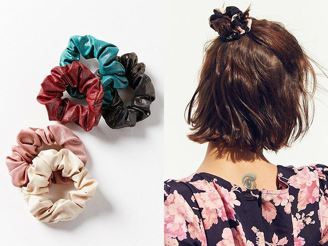 Peinados para llevar coletero o «scrunchie»