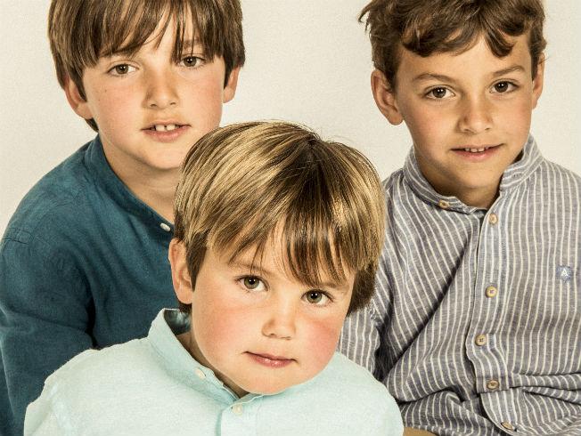 Moda para niños de Álvaro Moreno