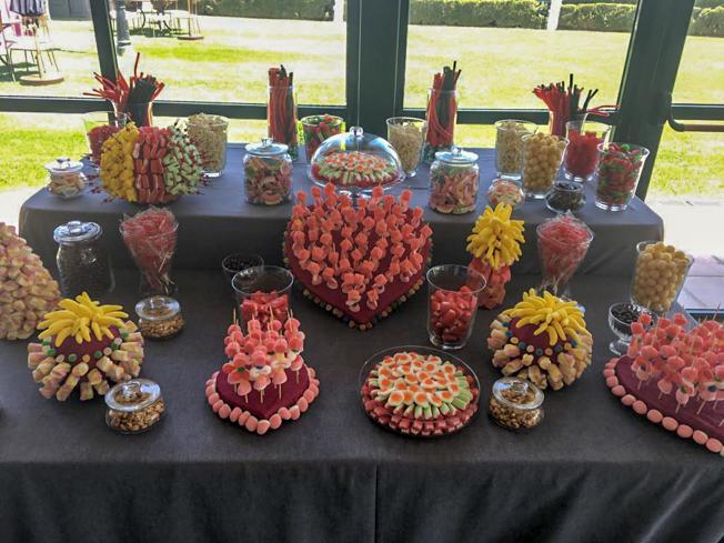 Candy bar para bodas, eventos, cumpleaños