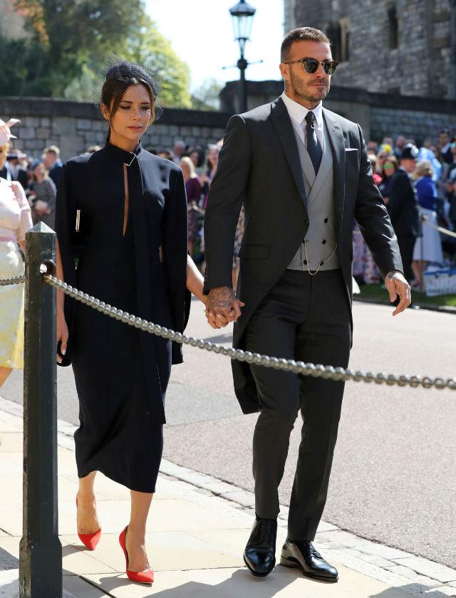 1a8177fa David Beckham y Victoria en la boda del príncipe Harry. Foto: Reuters
