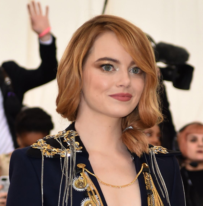 Emma Stone gala MET 2018