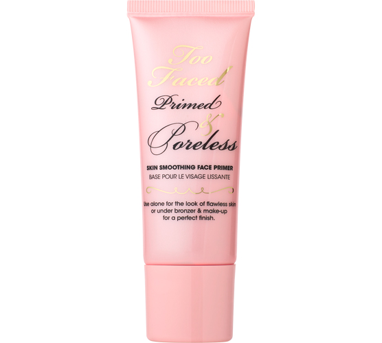 maquillaje anti poros poreless primer de too faced