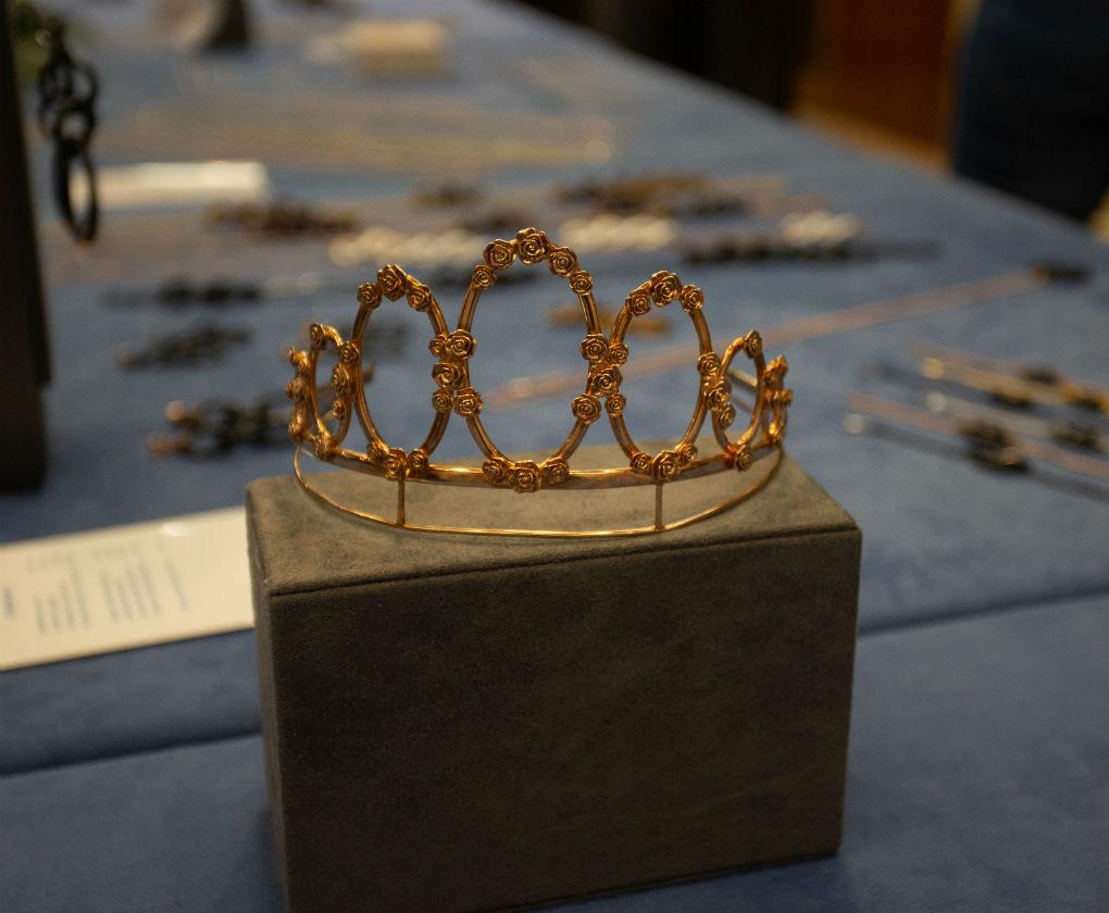 Miriam de Ungría ofreció una charla sobre los diamantes en Sevilla y presentó su firma de joyas. Foto: Vanessa Gómez