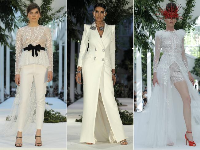 Vestidos de novias de tendencias arriesgadas para 2019