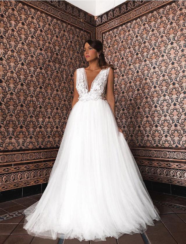 Vestidos novia rocio osorno