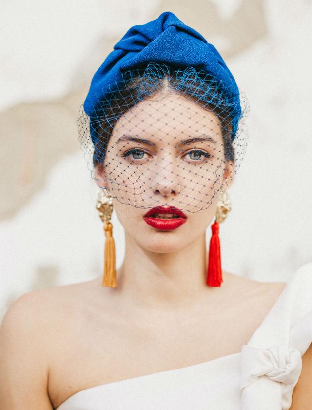 Turbantes la alternativa extica de moda para las invitadas de 2018