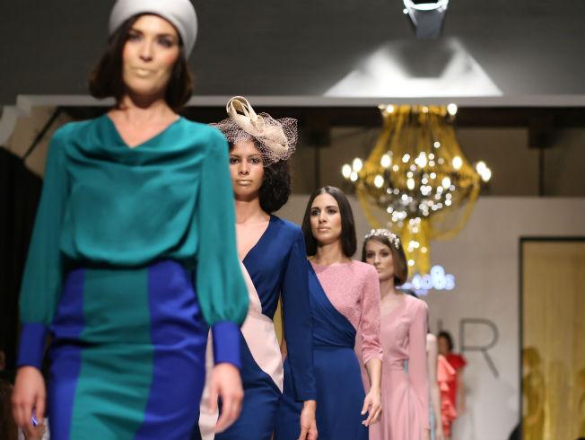 Desfile de moda para invitadas de la firma Anclados en Sur Fashion Experience 2018. Foto: CPA Studio
