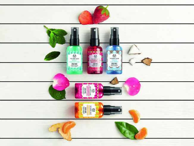 Sprays faciales o face mist de The Body Shop