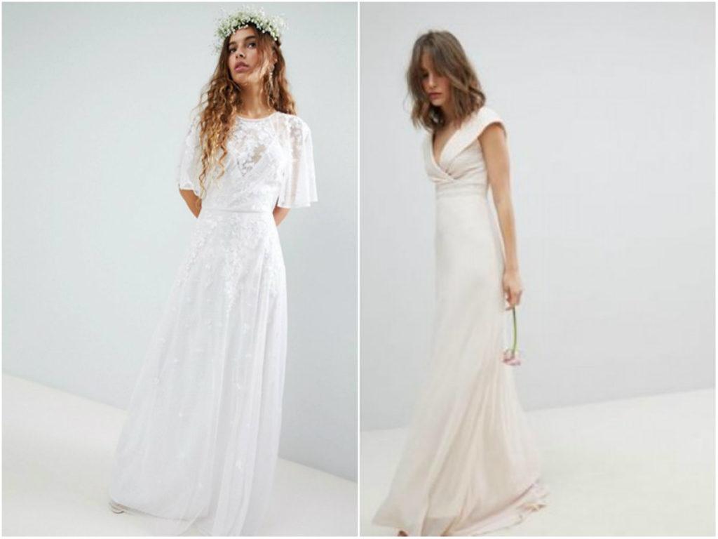 Vestidos novia romanticos baratos