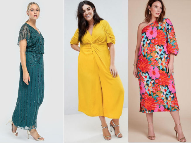 caa95cef5 Looks y vestidos de tallas grandes para ser la invitada ideal esta ...