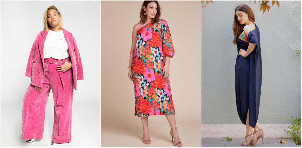 68c2f22c1 Looks y vestidos de tallas grandes para ser la invitada ideal esta ...