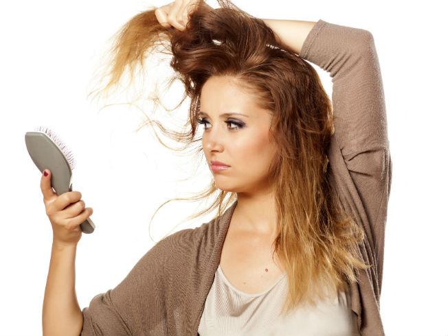 Trucos para evitar el cabello encrespado