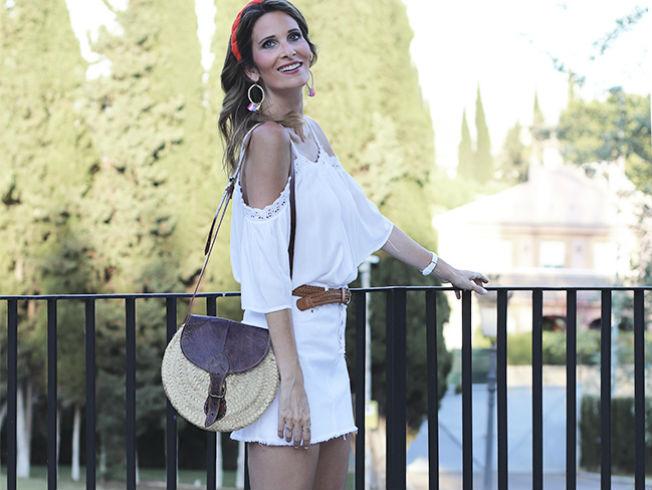 Carmen sevilla y el traje rojo de lina en camino del for Bulevar top model