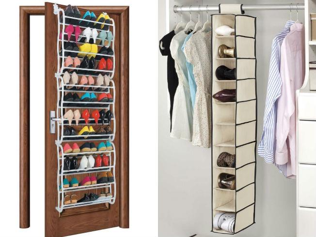 Ideas para organizar los zapatos en casa