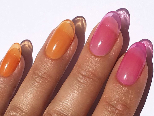 Tendencia «jelly nails»: uñas de gelatina
