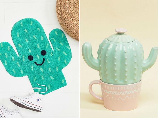 Tendencia decoración con cactus