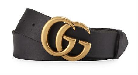 Cinturón de Gucci con hebilla del logo