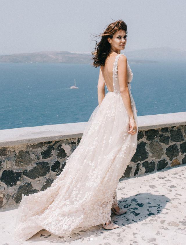 así es el vestido de novia de maría josé suárez - bulevar sur