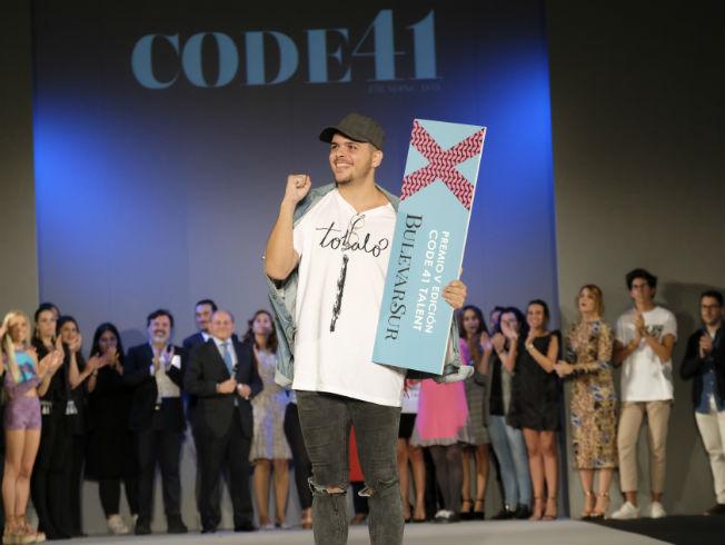 Álvaro Calafat, ganador del Premio Bulevar Sur de Code 41 Talent