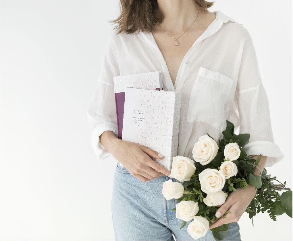 Así es la II edición de Wedding Planner, el libro y la agenda para organizar una boda de Weddings with love. Foto: Melon Blanc