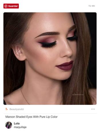 maquillaje-ojos-burdeos-ahumado