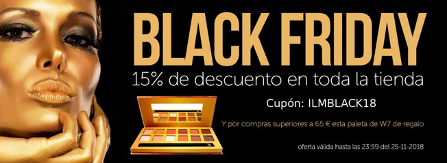 Black friday I Love Maquillaje