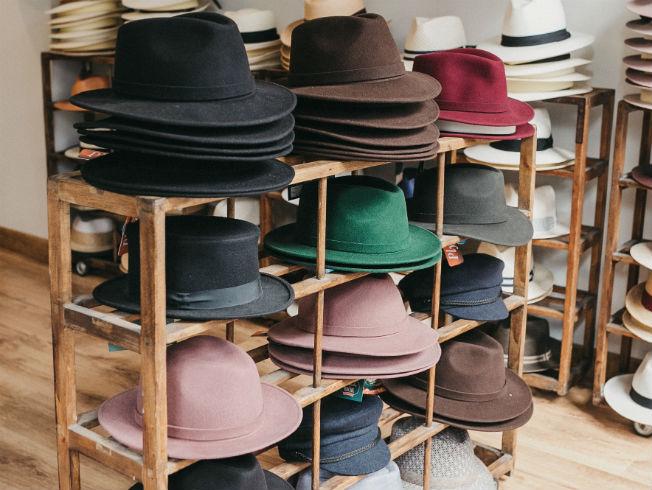Sombrero enrollable de Fernández y Roche