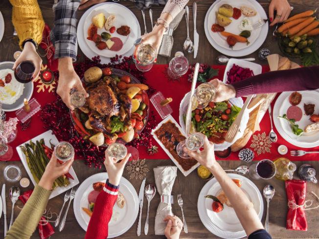 Consejos para mantener la dieta durante las comidas de Navidad