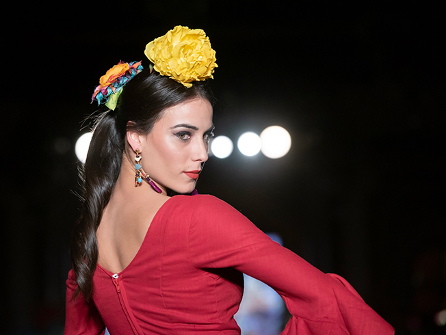 We Love Flamenco 2019: ideas para el peinado y las flores de flamenca