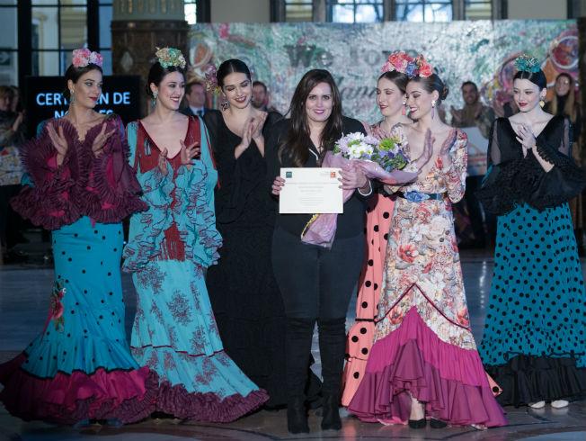 Ana María Ferreiro, ganadora del certamen de noveles de la provincia de Sevilla. Foto:Aníbal González